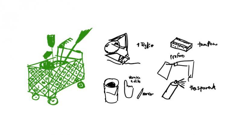 carrello-design-per-curare-spazi-comuni