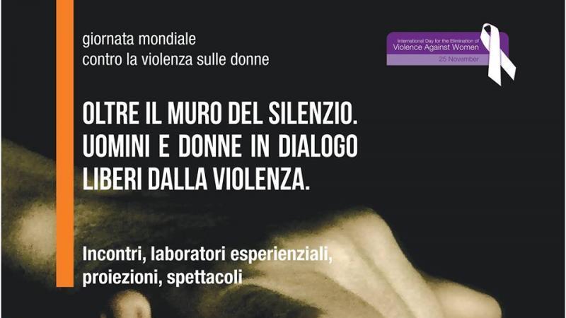 oltre muro del silenzio uomini e donne liberi dalla violenza 2