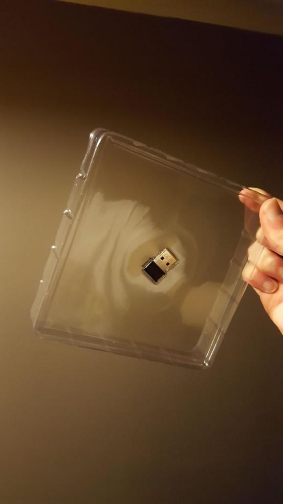 Un altro esempio di confezione sovradimensionata per un prodotto molto piccolo. (Nice Sandwich)