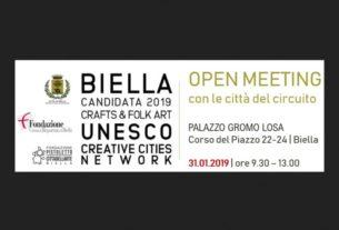 """""""Città Creative"""" Unesco, continua il percorso per la candidatura di Biella"""
