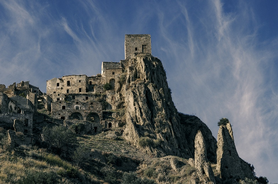 "Craco, ""paese fantasma"" in provincia di Matera"