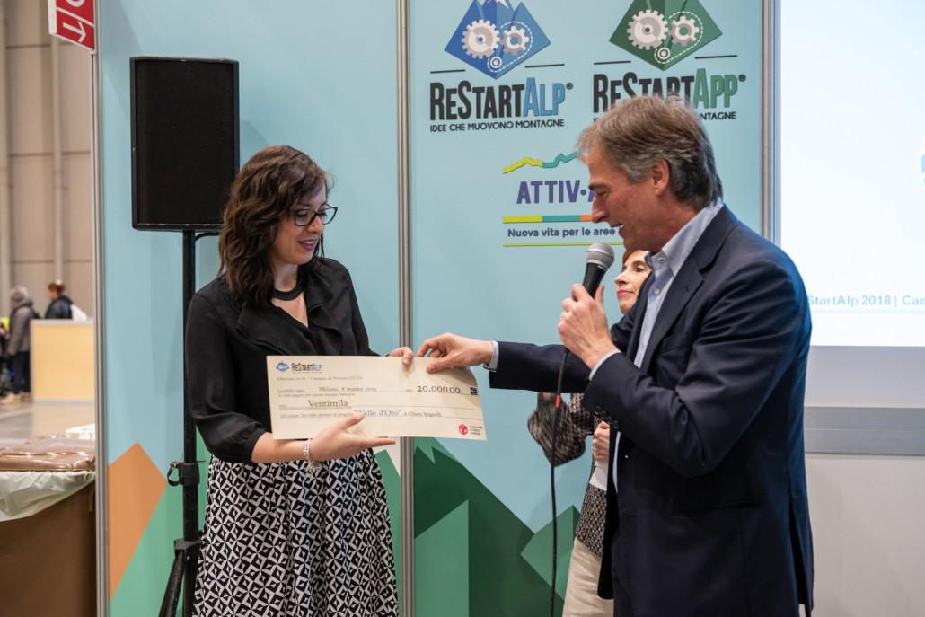 Premiazione ReStartAlp 2018 - 08