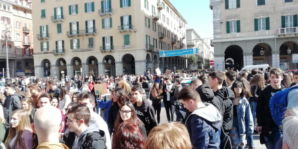 Lo sciopero per il clima a Savona