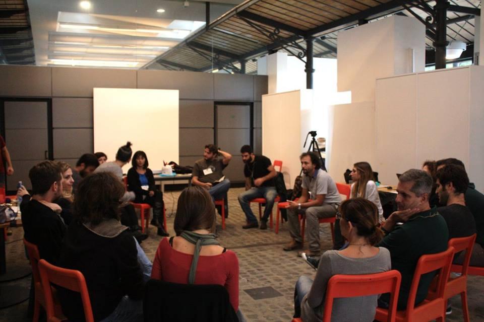 Un incontro nazionale della redazione di Italia che Cambia