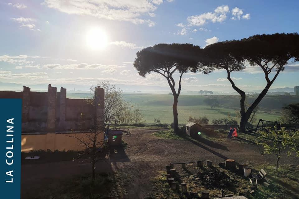 La Collina è un'esperienza di vita comunitaria nata nel 2010, a ridosso del Grande Raccordo Anulare di Roma