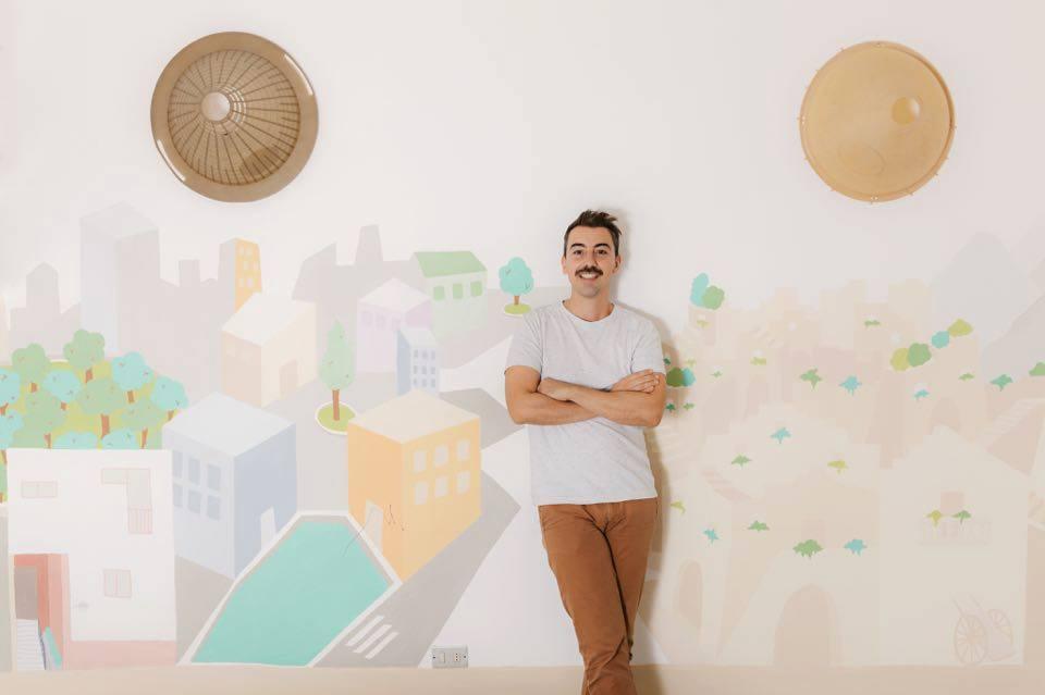 Andrea Paoletti, architetto e imprenditore, co-founder, insieme aMariella Stella, diCasa Neturala Matera