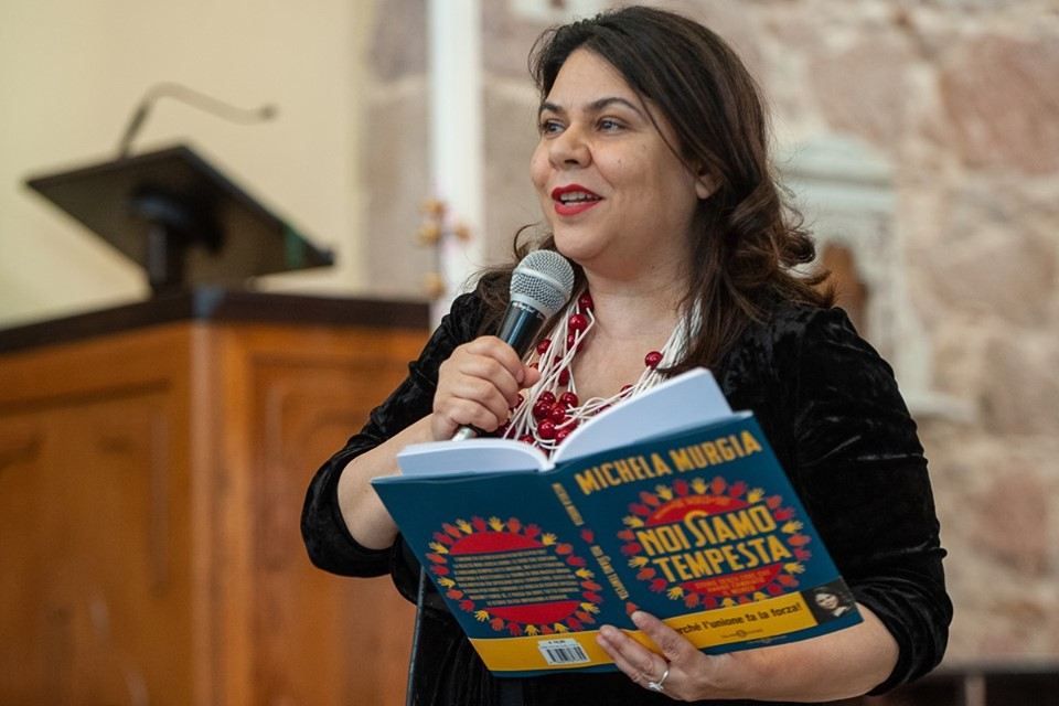 La scrittrice Michela Murgia, ideatrice di Liberos