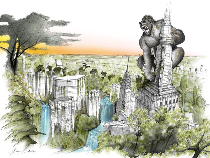 GREEN CROSS Gabriele Salimbeni (King Kong)