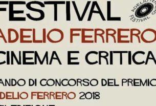 """Al via il bando per il Premio di critica cinematografica e televisiva """"Adelio Ferrero"""""""