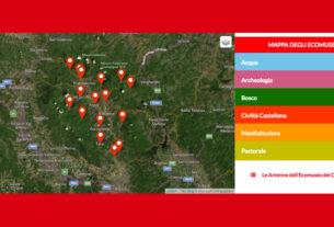 Una Web App per esplorare gli ecomusei