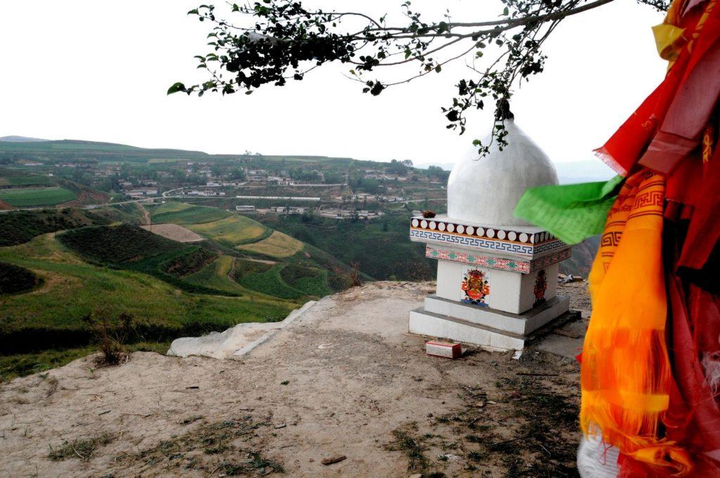 Amdo Tibet.Taktser.Luogo di nascita di S.S. il XIV Dalai Lama