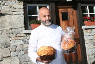Matteo Sormani, lo chef che fa il panettone a 1800 metri