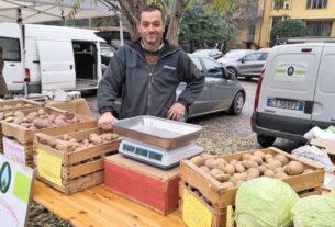 Fabrizio Souberan, l'agricoltore che coltiva patate di montagna