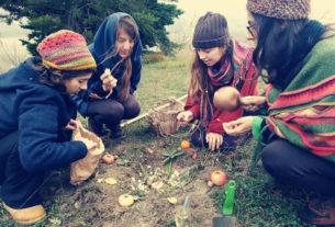 Yana casa Portale, una comunità di giovani che vivono insieme in natura