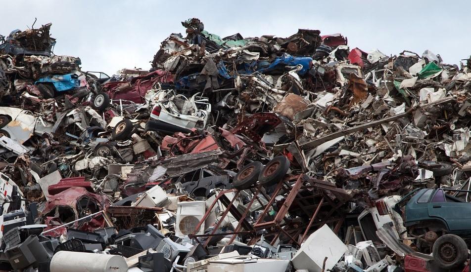 discarica rifiuti antropocene