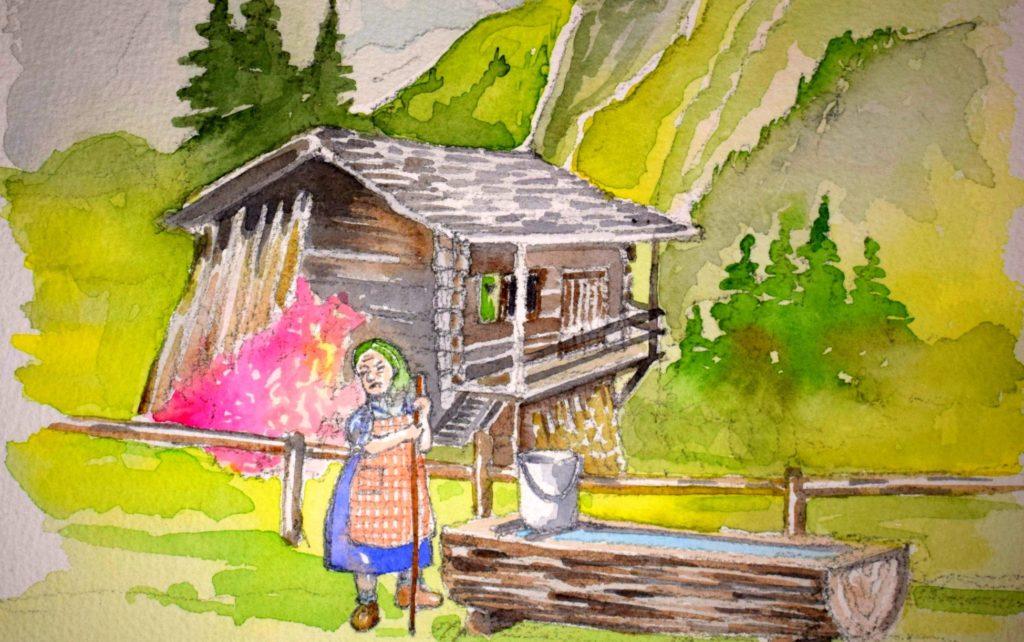 favola nonna bosco