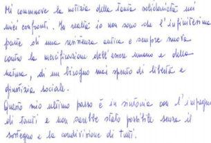"""""""La solidarietà mi sostiene"""": la lettera di Nicoletta Dosio dal carcere"""
