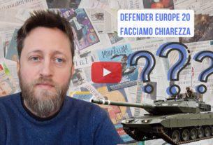 Defender Europe 2020, facciamo chiarezza – Io Non Mi Rassegno #94