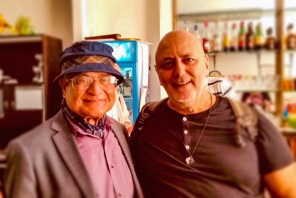 Il Fisico Quantistico Amit Goswami e il dott. Valerio Sgalambro