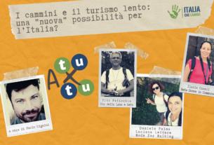 """I cammini e il turismo lento: una """"nuova"""" possibilità per l'Italia? – A tu per tu #2"""