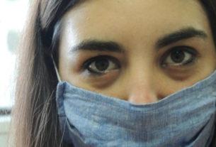 Le donne che nella villa confiscata alla camorra cuciono mascherine