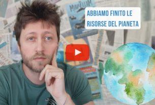 Ieri era l'Overshoot day italiano! – Io Non Mi Rassegno #138