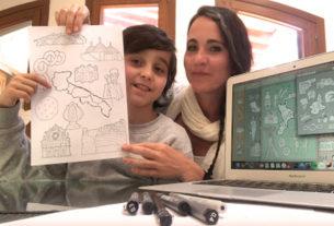 Simona, l'architetto che con la creatività insegna la geografia ai bambini