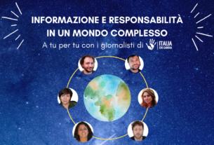 A tu per tu con i giornalisti di Italia che Cambia. Informazione e responsabilità in un mondo complesso