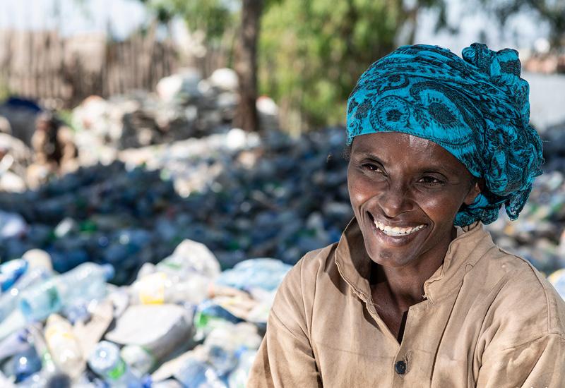 100 per cento Plastica Selemawit