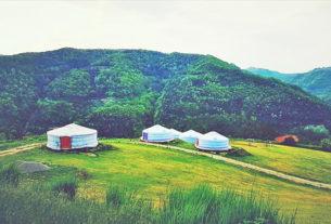 Yurte in Langa, l'agricampeggio dove riscoprire il contatto con la natura