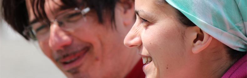 Daniele Contardo e Nica Mammì