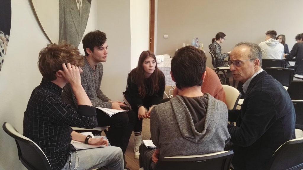Giovanni Basagni presidente tutor nel progetto Fare Impresa