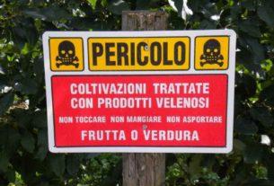 Tonnellate di pesticidi illegali nei campi della Toscana