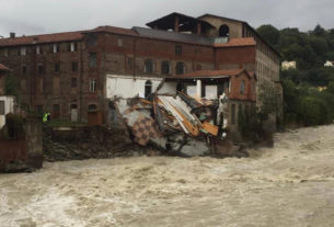 Solidarietà a Cittadellarte, colpita della furia del torrente Cervo