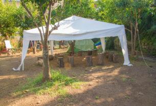 Un giardino in città diviene lo spazio di una comunità educante con il bambino al centro