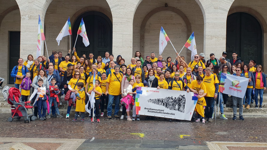 Melagrana Marcia per la Pace 2018