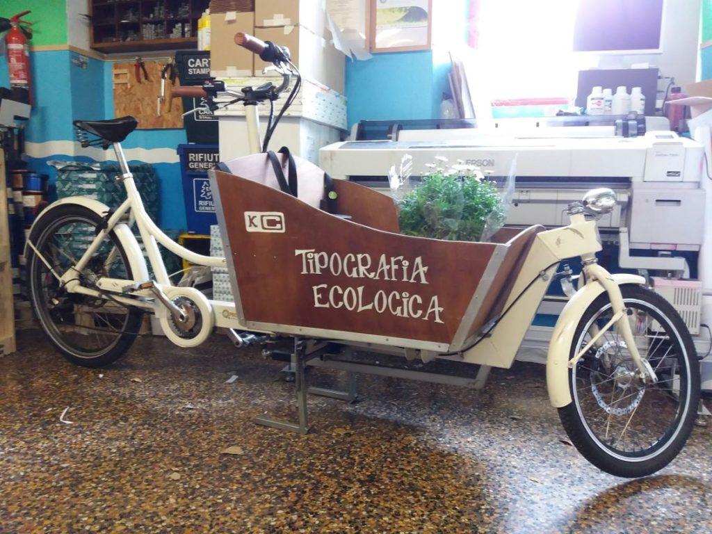 Bici tipografia