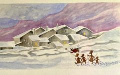 Topotoma e la nevicata