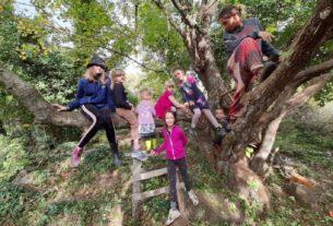 Cresce l'Albero della Tuscia, la comunità educante libertaria del Lamone