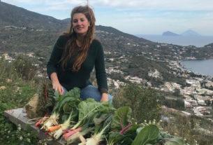 """Alice, dall'Australia allo smartworking a Lipari: """"Viaggio, vivo verde e racconto la sostenibilità"""""""
