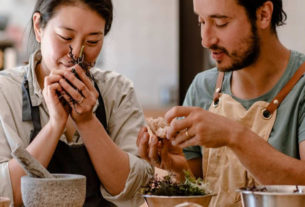 Carol e Francesco: la cucina naturale che nasce da una storia d'amore