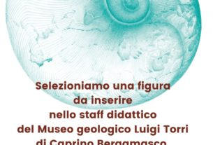 Selezioniamo figura da inserire nello staff del Museo geologico Luigi Torri