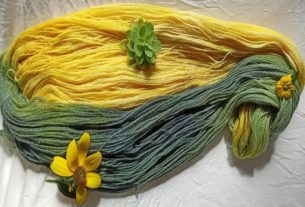 """""""La lana dei bricchi"""": Monica e la magia della tintura naturale"""