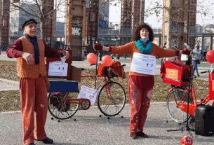"""Tbop: il teatro """"in bicicletta"""" dove l'artista diventa artigiano"""