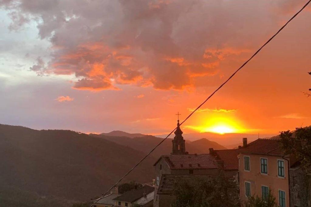 tramonto velva