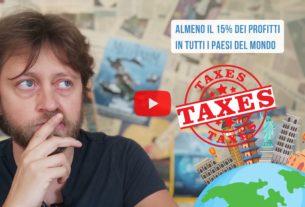 Il G7 vuole introdurre una Global Tax sulle multinazionali – Io Non Mi Rassegno #382