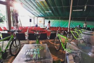 Teatro a Pedali, lo spettacolo a basso impatto alimentato dalle biciclette