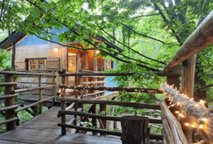 Dormire nella casa sull'albero: il sogno di una famiglia per un turismo in natura