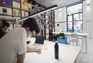 Accademia, lo spazio recuperato e restituito alla città dove studiare e far fiorire nuove idee d'impresa