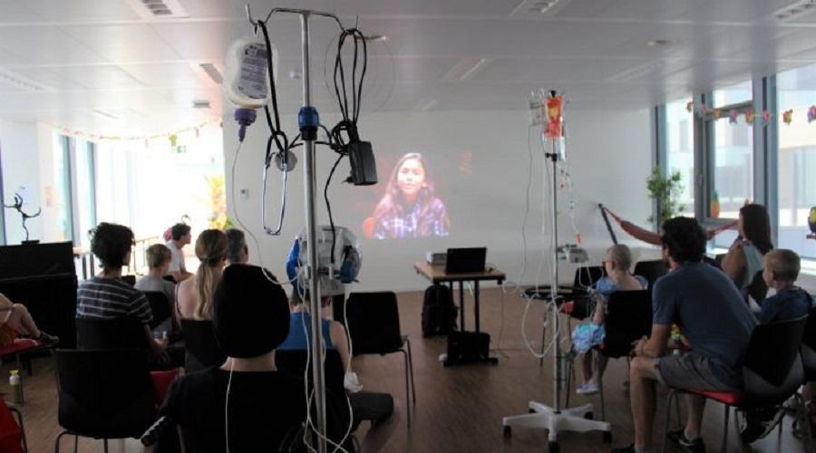 atelier cinema in ospedale
